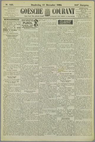 Goessche Courant 1924-12-11