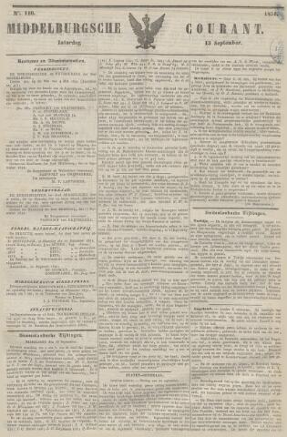 Middelburgsche Courant 1851-09-13