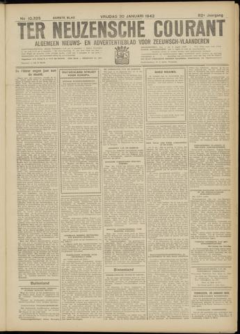 Ter Neuzensche Courant. Algemeen Nieuws- en Advertentieblad voor Zeeuwsch-Vlaanderen / Neuzensche Courant ... (idem) / (Algemeen) nieuws en advertentieblad voor Zeeuwsch-Vlaanderen 1942-01-30