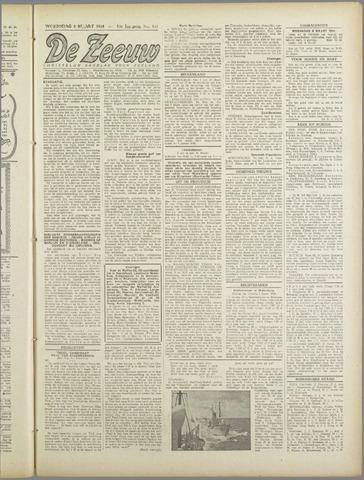 De Zeeuw. Christelijk-historisch nieuwsblad voor Zeeland 1944-03-08