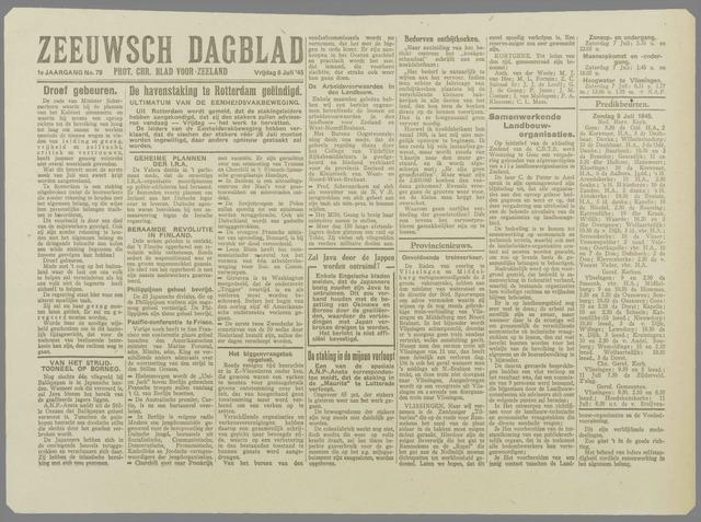 Zeeuwsch Dagblad 1945-07-06