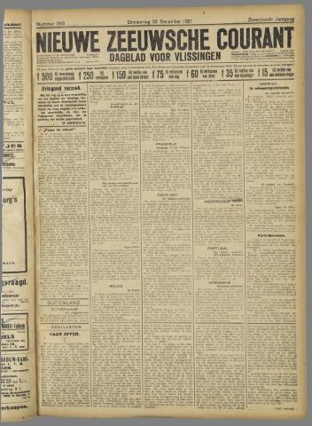 Nieuwe Zeeuwsche Courant 1921-12-22