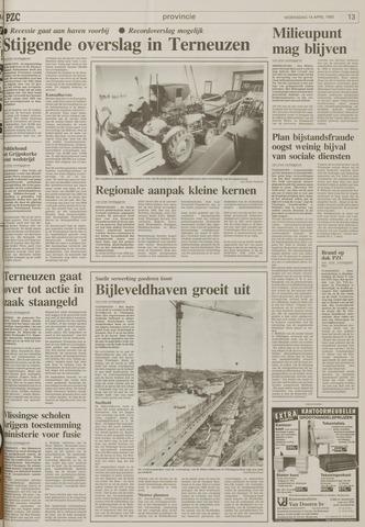 Provinciale Zeeuwse Courant 14 April 1993 Pagina 23