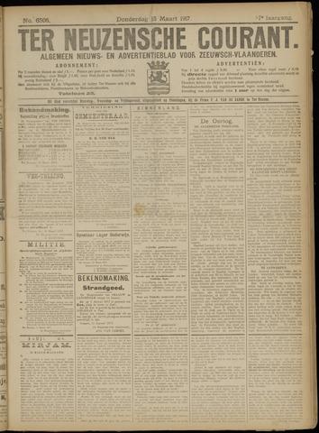 Ter Neuzensche Courant. Algemeen Nieuws- en Advertentieblad voor Zeeuwsch-Vlaanderen / Neuzensche Courant ... (idem) / (Algemeen) nieuws en advertentieblad voor Zeeuwsch-Vlaanderen 1917-03-15