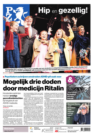Provinciale Zeeuwse Courant 2017-04-28