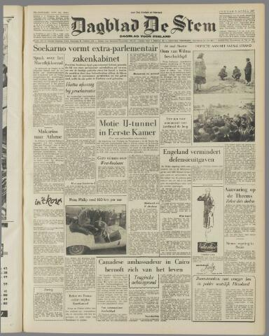 de Stem 1957-04-05