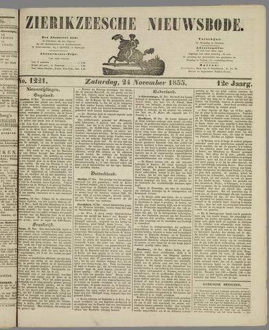 Zierikzeesche Nieuwsbode 1855-11-24