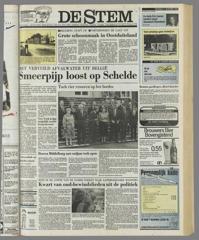 de Stem 1989-11-08