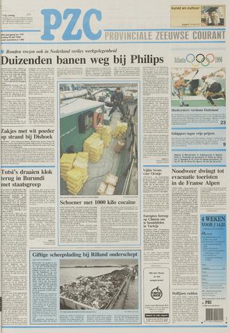 Provinciale Zeeuwse Courant 1996-07-26
