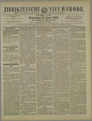 Zierikzeesche Nieuwsbode 1906-04-12