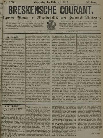 Breskensche Courant 1911-02-15