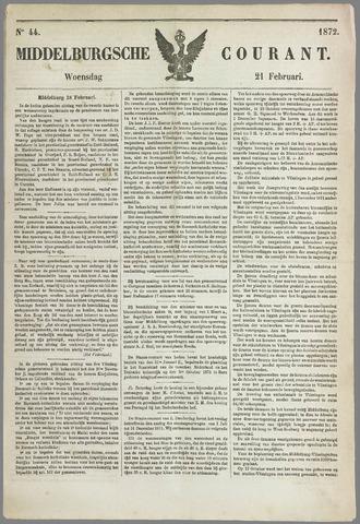 Middelburgsche Courant 1872-02-21