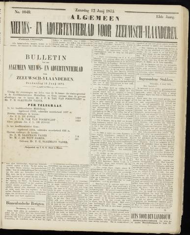 Ter Neuzensche Courant. Algemeen Nieuws- en Advertentieblad voor Zeeuwsch-Vlaanderen / Neuzensche Courant ... (idem) / (Algemeen) nieuws en advertentieblad voor Zeeuwsch-Vlaanderen 1875-06-10
