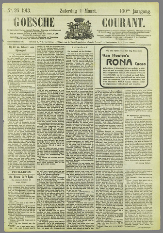 Goessche Courant 1913-03-01