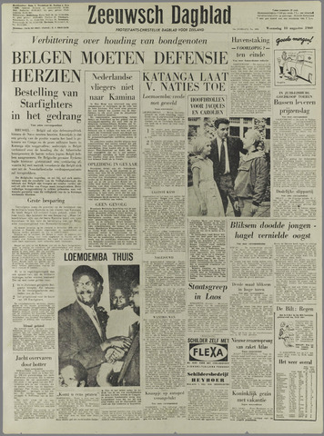 Zeeuwsch Dagblad 1960-08-10