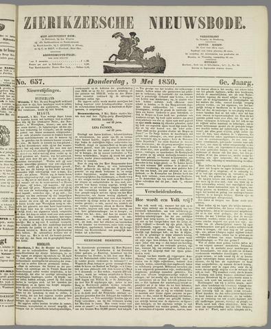 Zierikzeesche Nieuwsbode 1850-05-09