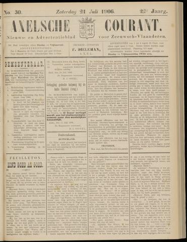 Axelsche Courant 1906-07-21