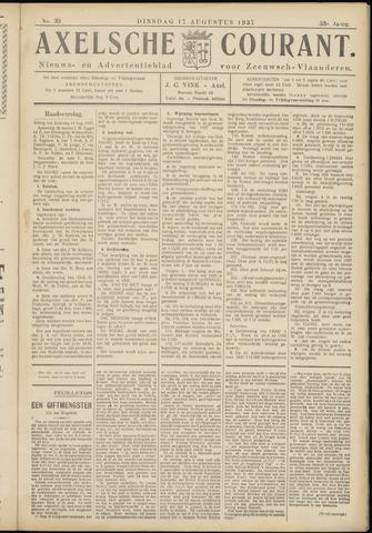 Axelsche Courant 1937-08-17