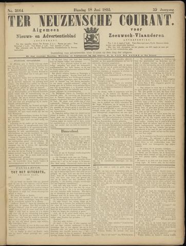 Ter Neuzensche Courant. Algemeen Nieuws- en Advertentieblad voor Zeeuwsch-Vlaanderen / Neuzensche Courant ... (idem) / (Algemeen) nieuws en advertentieblad voor Zeeuwsch-Vlaanderen 1895-06-18