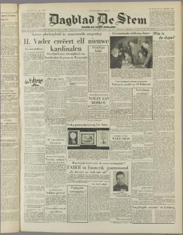 de Stem 1953-01-13
