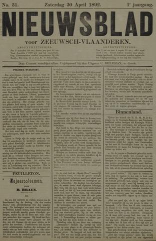 Nieuwsblad voor Zeeuwsch-Vlaanderen 1892-04-30