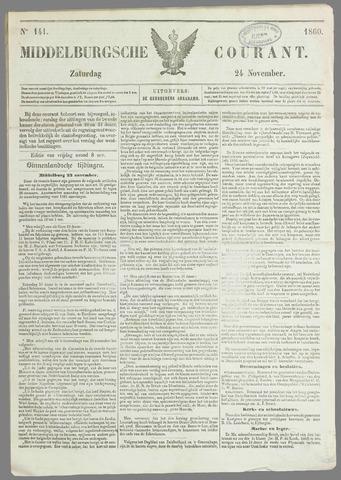 Middelburgsche Courant 1860-11-24