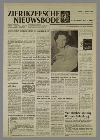 Zierikzeesche Nieuwsbode 1965-08-31