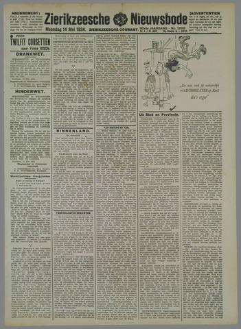 Zierikzeesche Nieuwsbode 1934-05-14