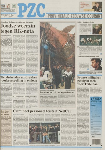 Provinciale Zeeuwse Courant 1998-03-17