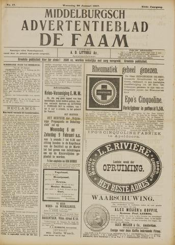 de Faam en de Faam/de Vlissinger 1907-01-30