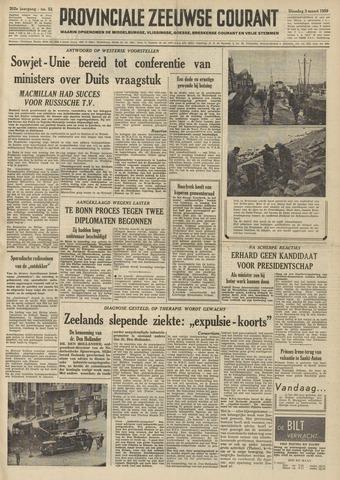Provinciale Zeeuwse Courant 1959-03-03