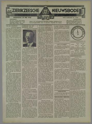 Zierikzeesche Nieuwsbode 1940-05-29