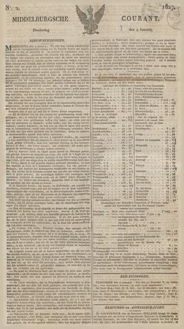 Middelburgsche Courant 1827-01-04