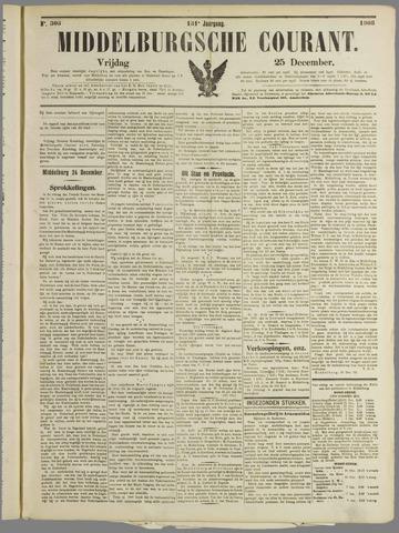 Middelburgsche Courant 1908-12-25