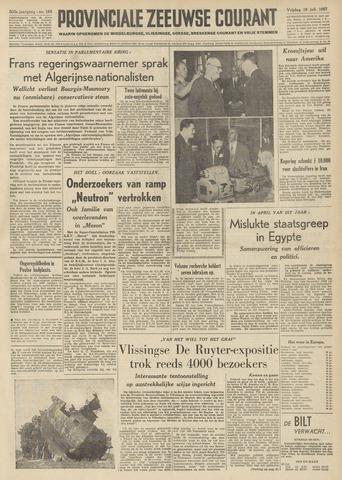 Provinciale Zeeuwse Courant 1957-07-19
