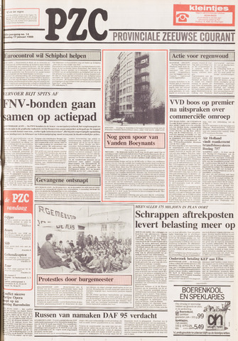 Provinciale Zeeuwse Courant 1989-01-17