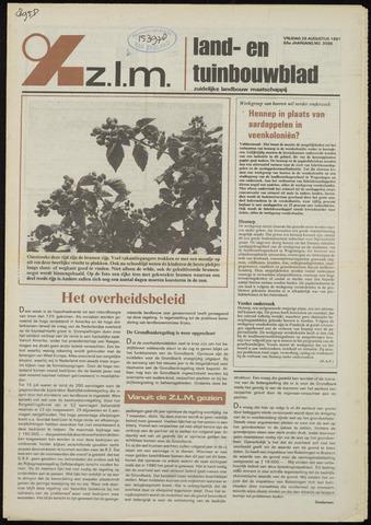 Zeeuwsch landbouwblad ... ZLM land- en tuinbouwblad 1981-08-28