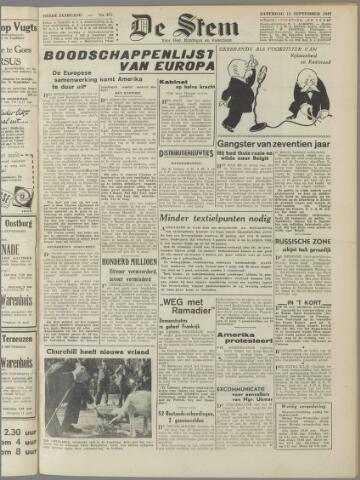 de Stem 1947-09-13