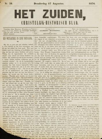 Het Zuiden, Christelijk-historisch blad 1876-08-17