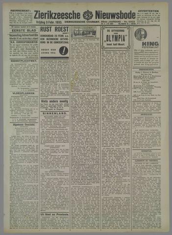 Zierikzeesche Nieuwsbode 1933-02-03