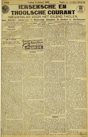 Ierseksche en Thoolsche Courant 1932