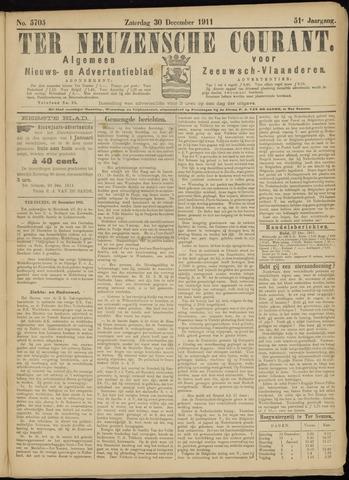 Ter Neuzensche Courant. Algemeen Nieuws- en Advertentieblad voor Zeeuwsch-Vlaanderen / Neuzensche Courant ... (idem) / (Algemeen) nieuws en advertentieblad voor Zeeuwsch-Vlaanderen 1911-12-30