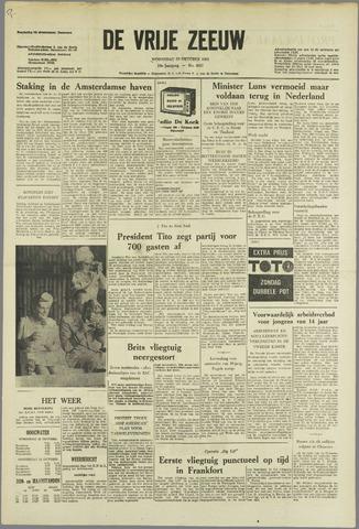 de Vrije Zeeuw 1963-10-23