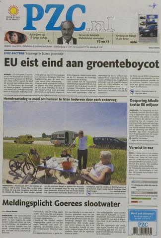 Provinciale Zeeuwse Courant 2011-06-03