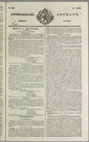 Zierikzeesche Courant 1844-06-21