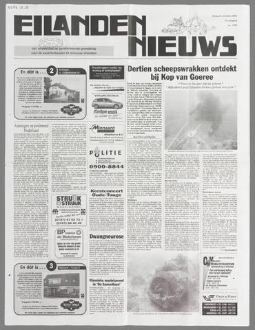 Eilanden-nieuws. Christelijk streekblad op gereformeerde grondslag 2004-11-12