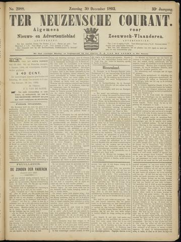 Ter Neuzensche Courant. Algemeen Nieuws- en Advertentieblad voor Zeeuwsch-Vlaanderen / Neuzensche Courant ... (idem) / (Algemeen) nieuws en advertentieblad voor Zeeuwsch-Vlaanderen 1893-12-30