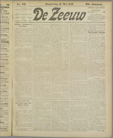 De Zeeuw. Christelijk-historisch nieuwsblad voor Zeeland 1916-05-11