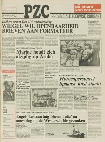 Provinciale Zeeuwse Courant 1977-08-15