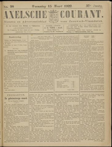Axelsche Courant 1922-03-15